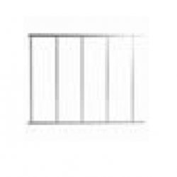 Descriere: Gard din aluminiu pentru brat bariera