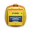 Descriere: buton de incendiu galben, adresabil, rezistent