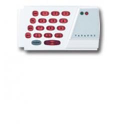 Descriere: Tastatura LED pentru 24 de zone (orizontala)